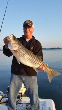 April 2016 lake lanier fishing report the striper for Lake lanier fishing spots