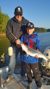 Family Fishing Fun on Lake Lanier