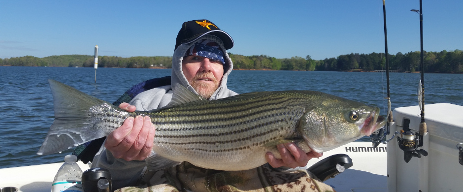 Outdoors Without Limits Striper Trip
