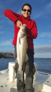 Good Spring Lake Lanier Striper