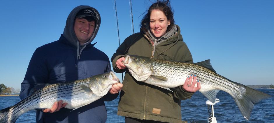 Great Double Lake Lanier Stripers