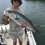 July 2019 Lake Lanier Striper Fishing Report