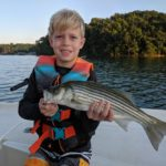 August 2019 Lake Lanier Striper Fishing Report