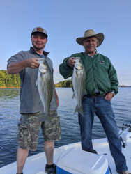 Lake Lanier Striper Fishing