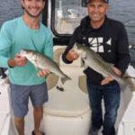 September Lake Lanier Striper Fishing Photos