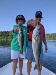 September Lake Lanier StriperFishing