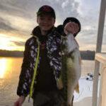 November December 2020 Lake Lanier Striper Fishing Photos