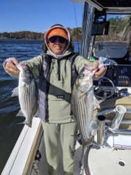 Double Lake Lanier Stripers