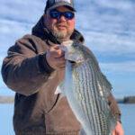 Winter 2021 Lake Lanier Striper Fishing Photos