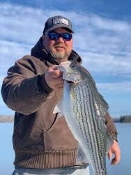 February Lake Lanier Striper