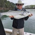 April 2021 Lake Lanier Striper Fishing Photos