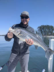 Lak Lanier Striper Fishing
