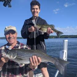 Family Lanier Fishing