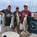 June 2021 Lake Lanier Striper Fishing Photos