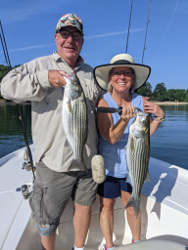 Couple of Lake Lanier Stripers