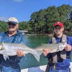 July 2021 Lake Lanier Striper Fishing Photos