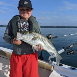 Kids Love Catching Stripers
