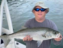 Striper Fishing on Lake Lanier