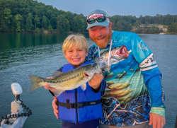 Kids Love Lake Lanier Striper Fishing