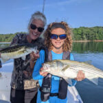 August 2021 Lake Lanier Striper Fishing Report