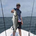 August 2021 Lake Lanier Striper Fishing Photos